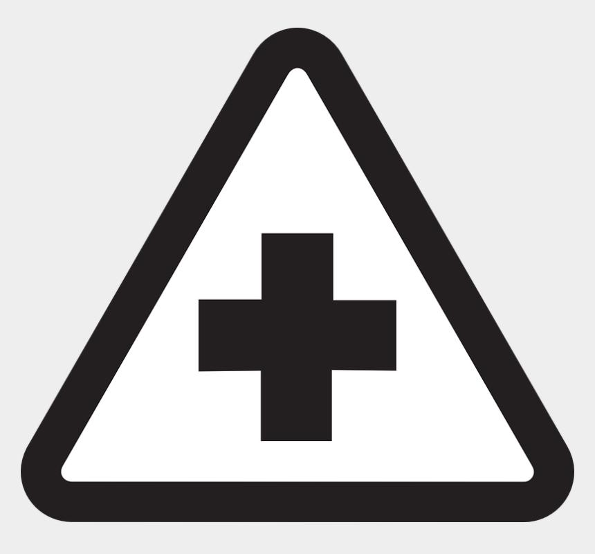 hospital clip art, Cartoons - Hospital Sign Clipart Black And White