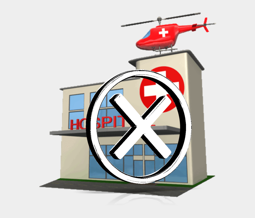 hospital clip art, Cartoons - Managing The Unmanageable - Hospital Building Clip Art