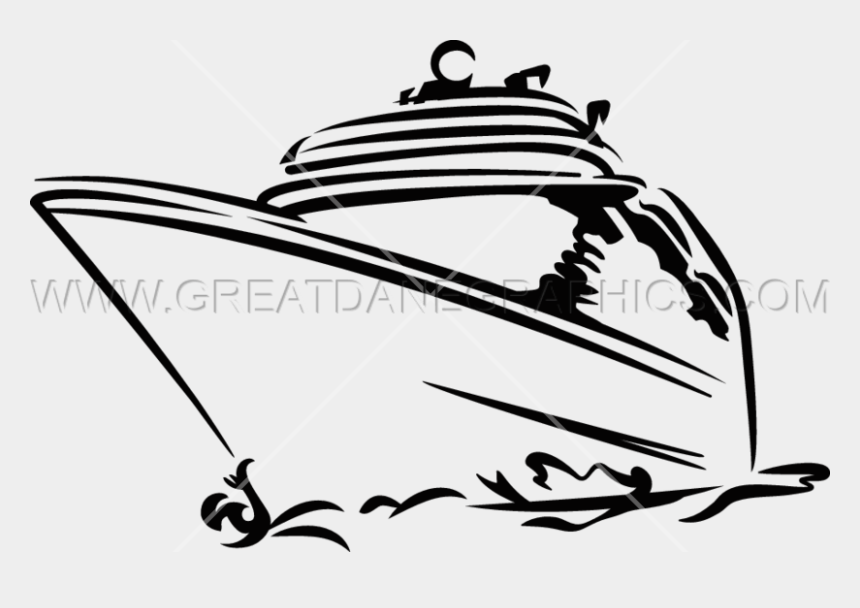 cruise ship clipart, Cartoons - Cruise Ship Production Ready Artwork For T Shirt Printing - Clipart Cruise Ship Silhouette