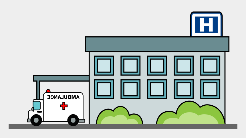 hospital clip art, Cartoons - Clipart Of Hospital, Building By And Hospital By - Hospital Clipart