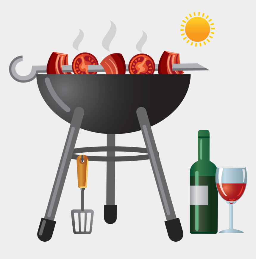 grill clip art, Cartoons - Wine Innovation Winestyles Tasting - Grilling And Wine