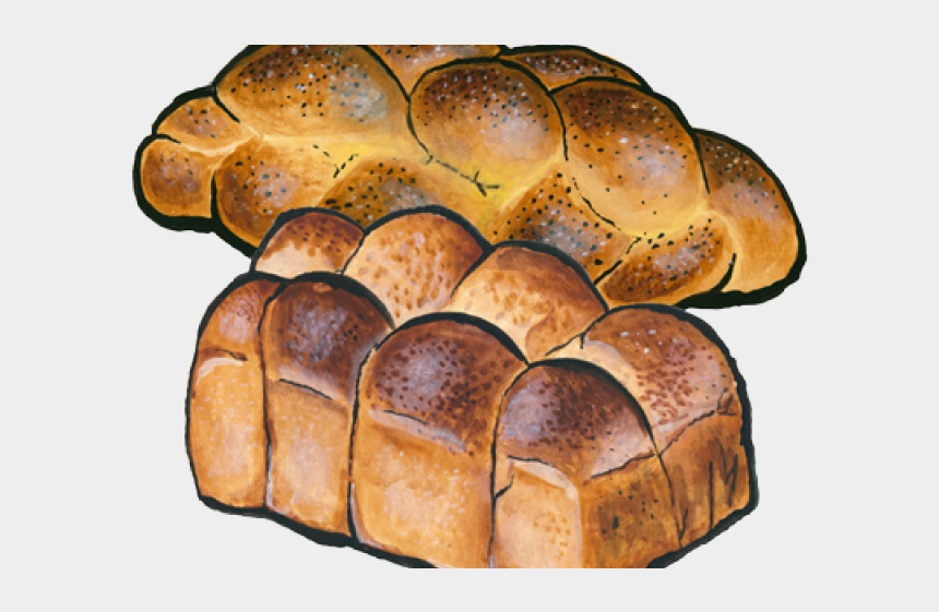 loaf of bread clipart, Cartoons - Bread Roll