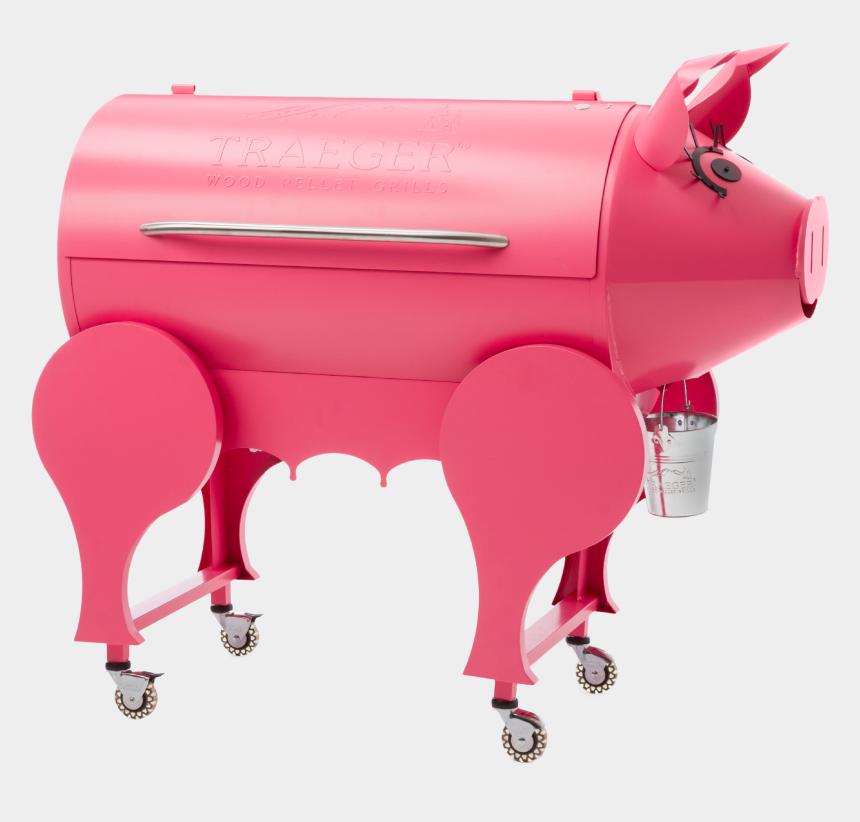 grill clip art, Cartoons - Barbque Clip Art - Traeger Pig Grill