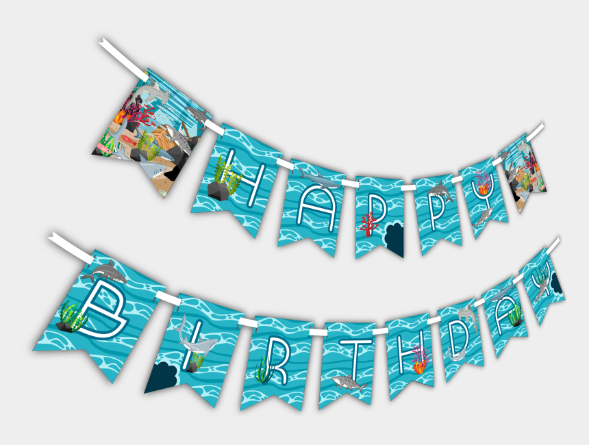 birthday party clip art, Cartoons - Party Banner Png - Birthday