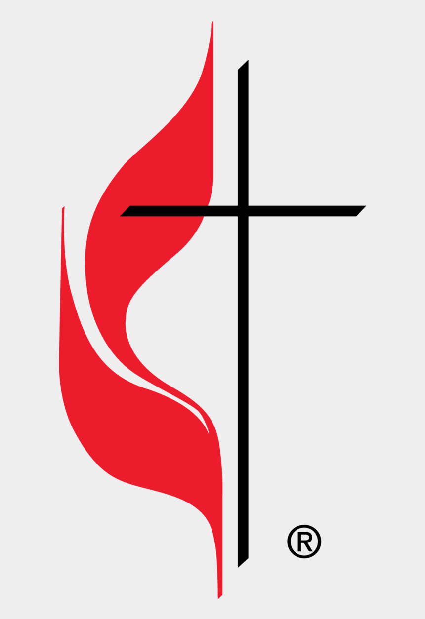open bible clip art, Cartoons - Official Cross And Flame Logo Of The United Methodist - United Methodist Church Logo