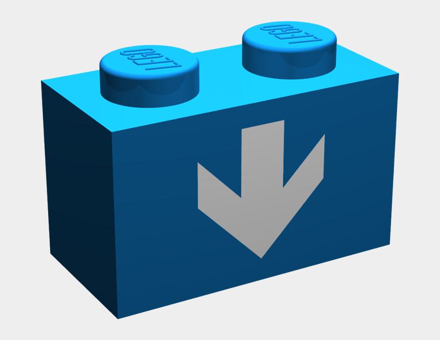 lego clip art, Cartoons - Blue Lego Brick Clip Art - Lego Design Id 2877 Part Name Profile Brick 1x2