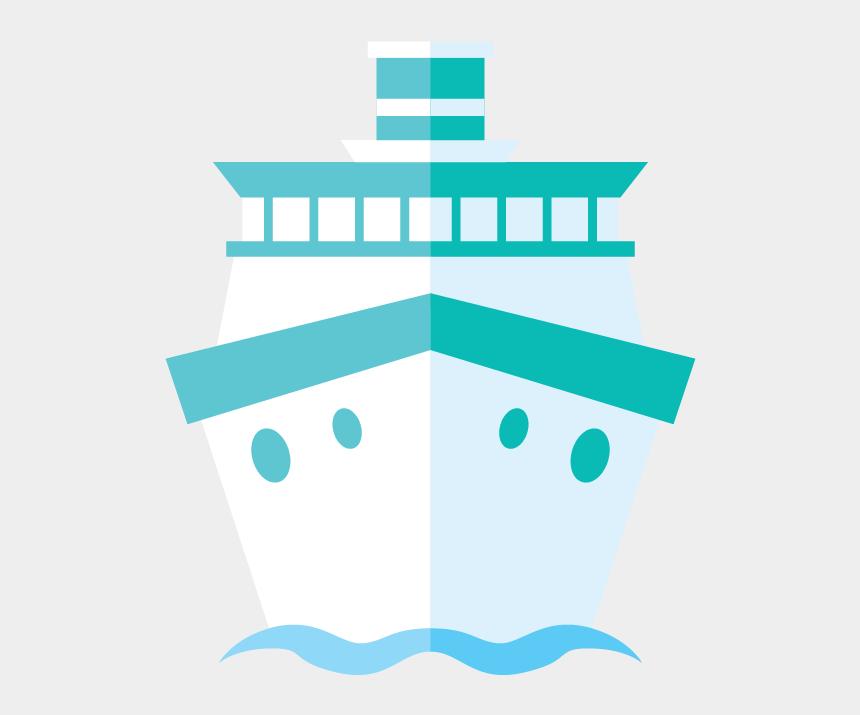 cruise ship clipart, Cartoons - Cruise Drawing Front Ship - Q 版 遊輪