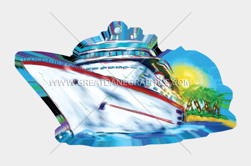 cruise ship clipart, Cartoons - Cruise Drawing Blue Ship - Cruise Ship Art