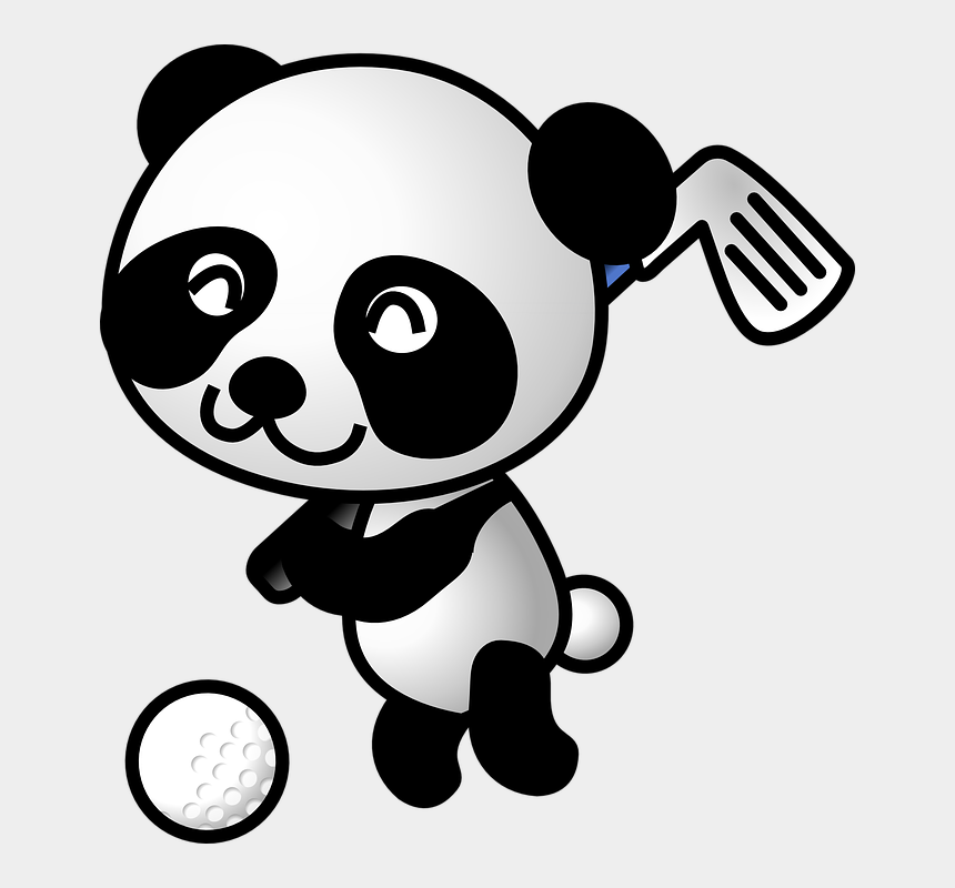 Free Golf Clipart And Animations Panda Golf Cliparts Cartoons Jing Fm