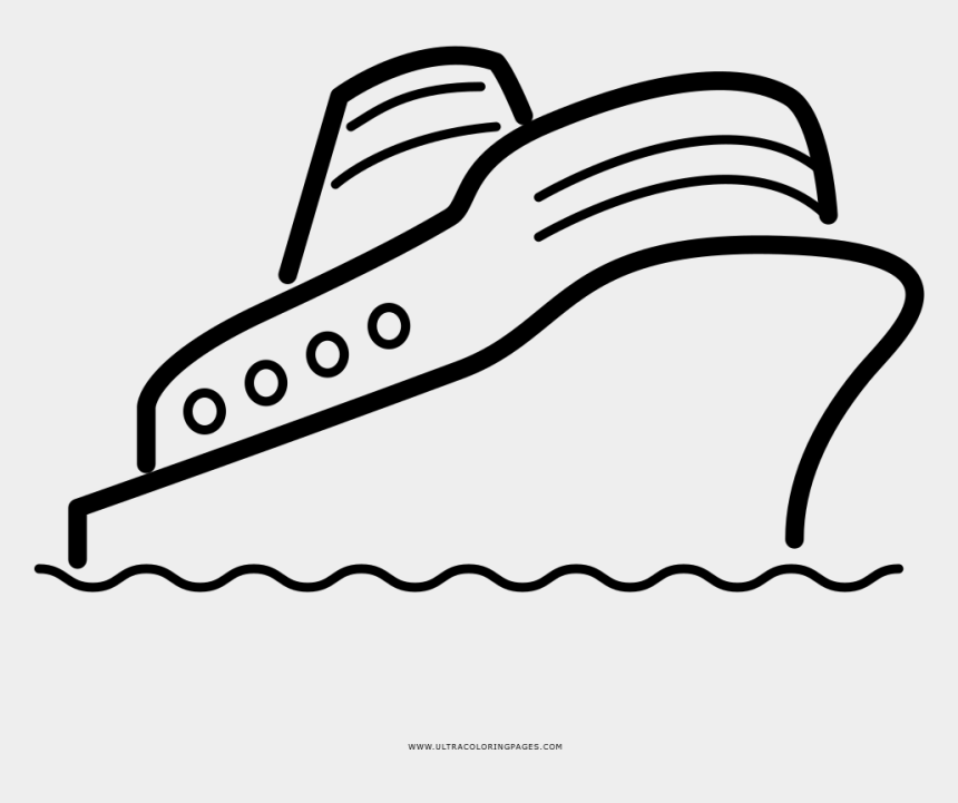 cruise ship clipart, Cartoons - Cruise Ship Coloring Page - Cruise Easy Draw
