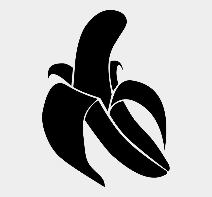 banana clipart black and white, Cartoons - Banana, Black Banana, Banana Vector - Banana Black Vector Png
