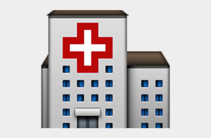 hospital clip art, Cartoons - Hospital Clipart Transparent Background - Hospital Emoji