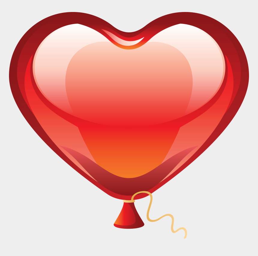 birthday party clip art, Cartoons - Birthday Party Decoration Free Png - Heart Balloon Png