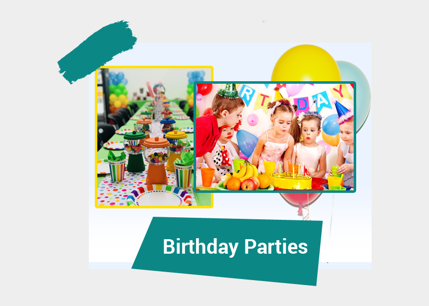birthday party clip art, Cartoons - Birthday Party