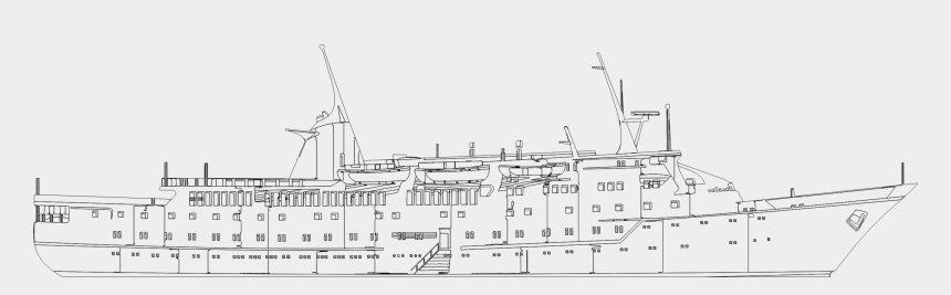 cruise ship clipart, Cartoons - Cruise Drawing Big Ship - Ship Technical Drawing