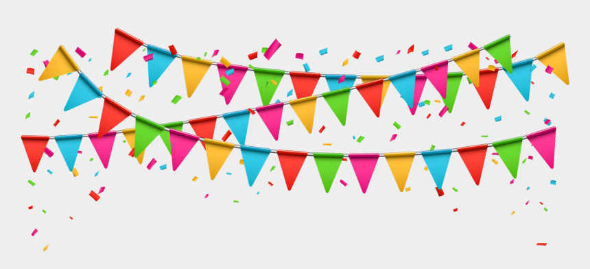 birthday party clip art, Cartoons - Celebration Background Png - Party Png