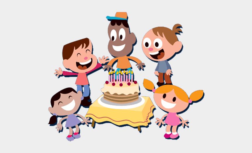 birthday party clip art, Cartoons - Clipart Family Birthday Party - Cartoon