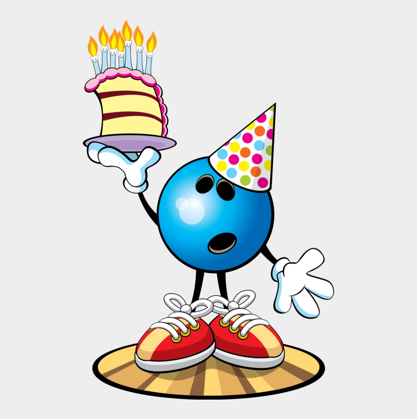 birthday party clip art, Cartoons - Birthday Bowling Clipart Free