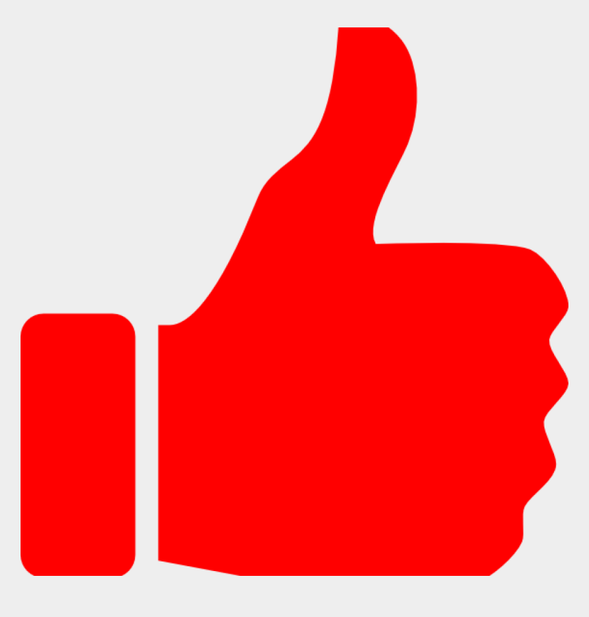 thumbs up clip art, Cartoons - Thumbs Up Icon Png Red