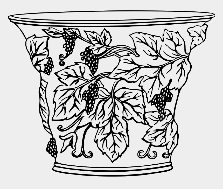 flower vase clipart, Cartoons - Flower Vase With Flowers Photography Png - Flower Pot Design Drawing