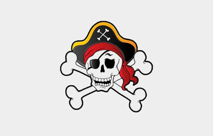 pirate skull clipart, Cartoons - Pirate Skull Transparent Png - Pirate Skull And Bones Clip Art