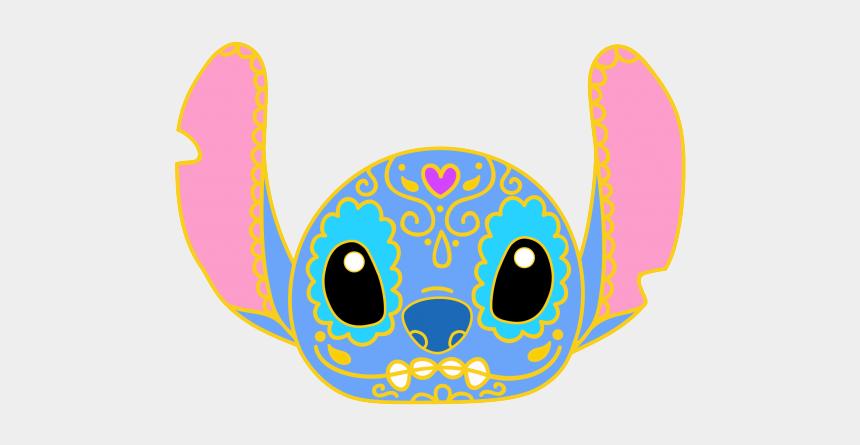 sugar skull clipart, Cartoons - Sugar Skull Clipart Disney - Stitch Sugar Skull