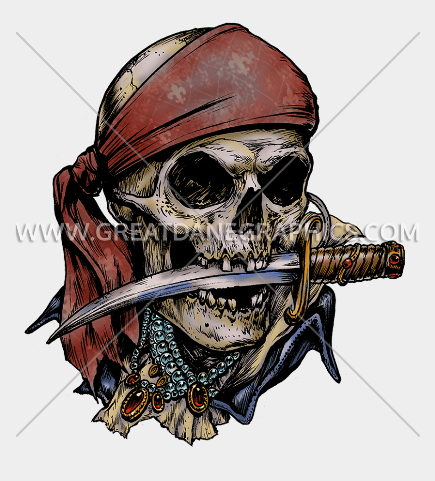pirate skull clipart, Cartoons - Pirate Skull Tattoo Designs, Pirate Skull Tattoos, - Pirate Skull