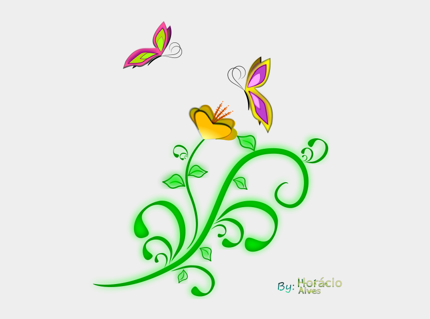 shrub clipart, Cartoons - Borboletas - Clip Art Png Small Butterfly