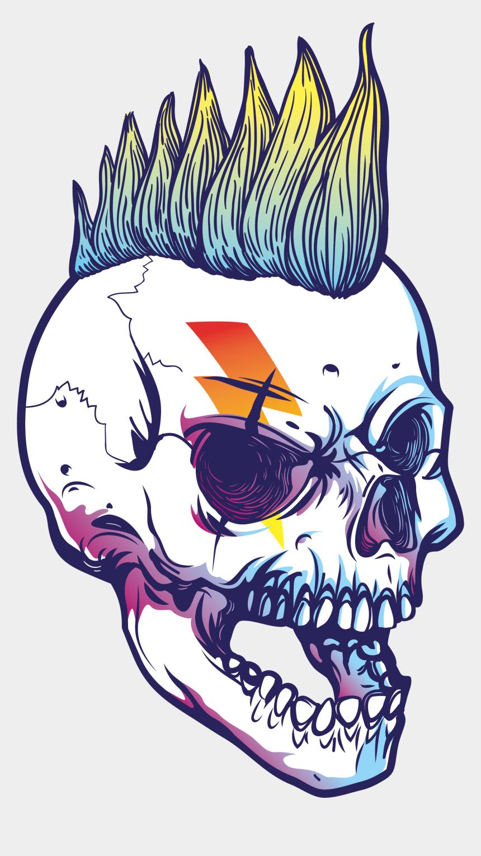 skull clipart free, Cartoons - Share This Article - Punk Skulls