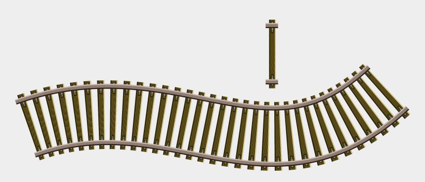 railroad tracks clipart, Cartoons - Rail Transport Train Track Diagram Railroad Tie - Railroad Track Clipart Png