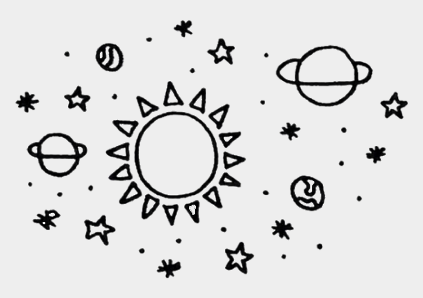 Png Aesthetic Space Black White Freetoedit Planet