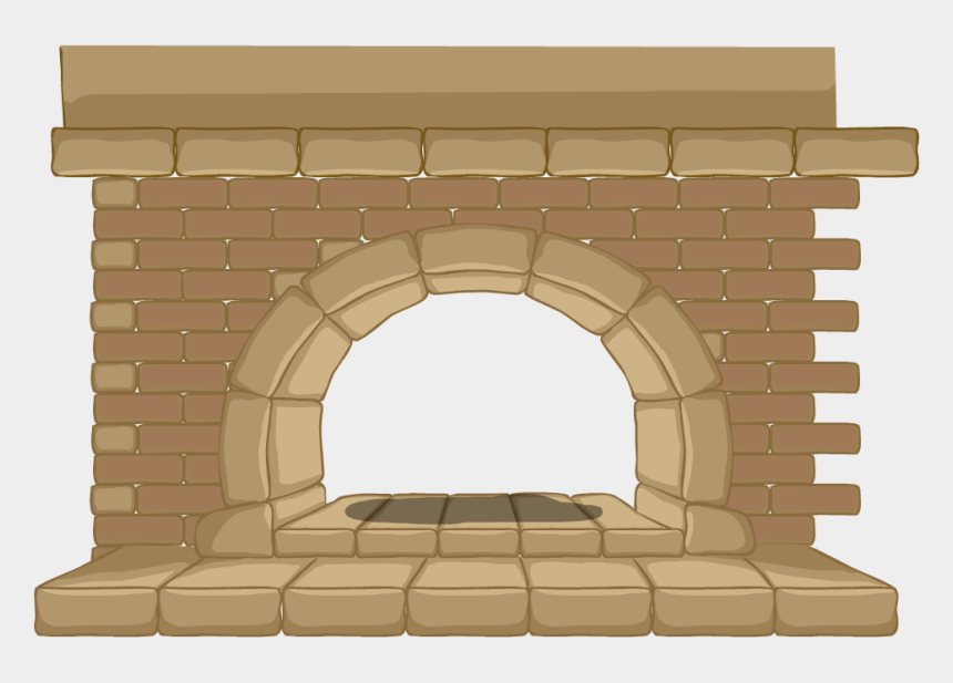 christmas fireplace clipart, Cartoons - Brick Fire Place Cartoon