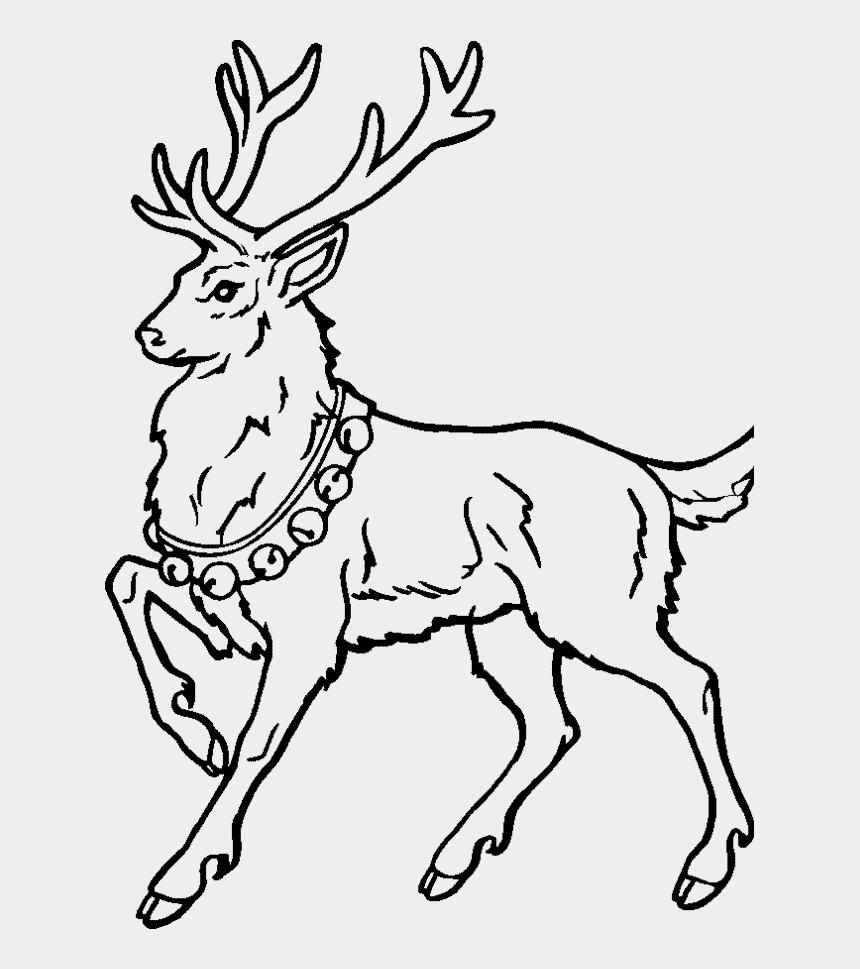 Christmas Reindeer Png.Draw Deer Santa Claus Drawings Of Christmas Reindeer