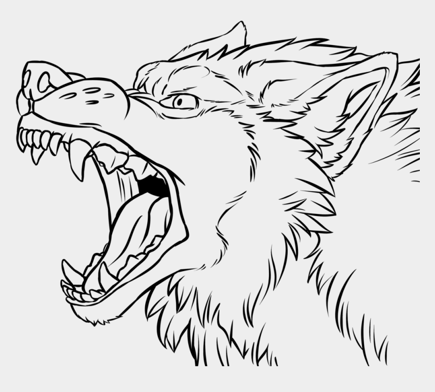 Angry Wolf Face Drawing At Getdrawings Growling Wolf Drawing Easy Cliparts Cartoons Jing Fm