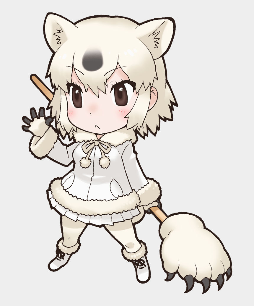 arctic fox clipart, Cartoons - Cartoon Polar Bear Png - Kemono Friends Polar Bear