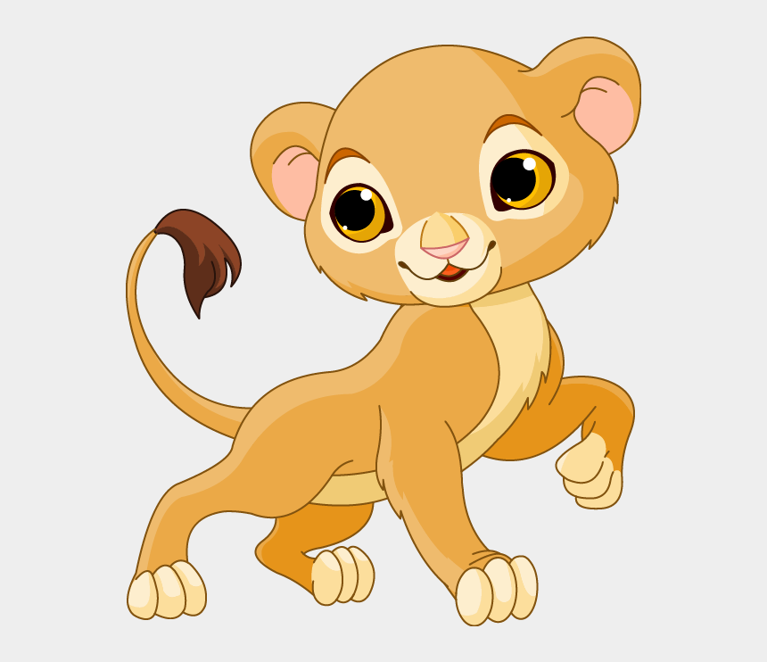 mountain lion clipart, Cartoons - Mountain Lion Clipart Lioness - Lion Cub Cartoon Drawing