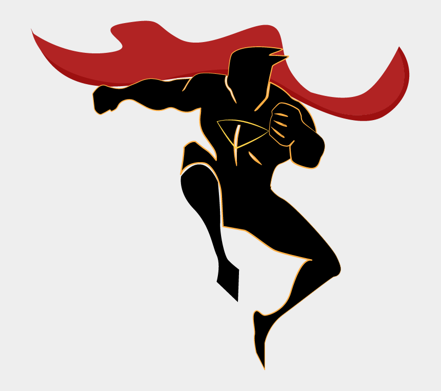 superman clipart black and white, Cartoons - Superman Silhouette Png - Superhero Silhouette Png