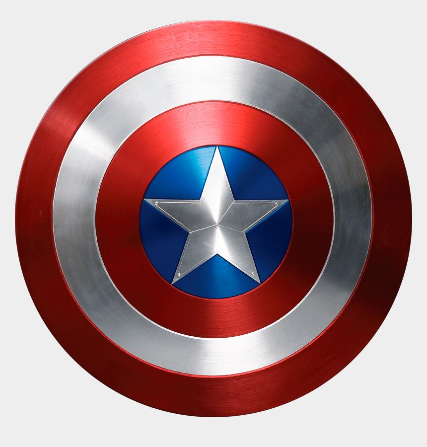 captain america clipart, Cartoons - Captain America Photorealistic Shield - Captain America Shield Png