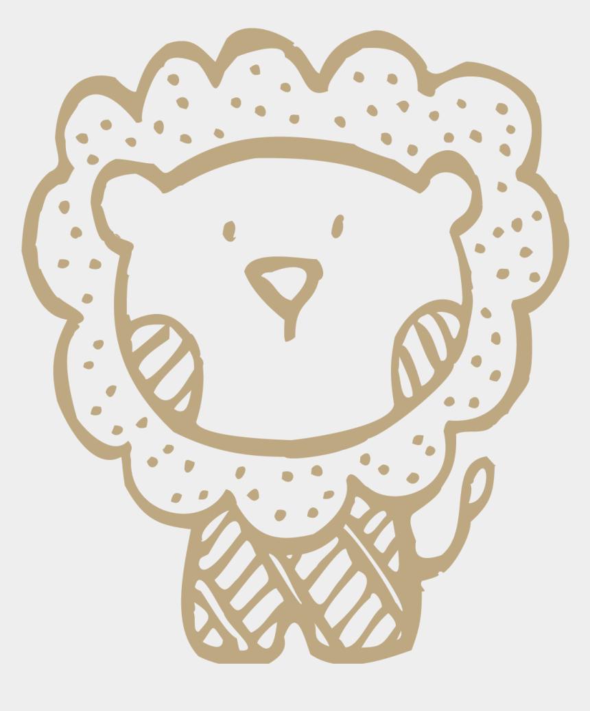 cute lion clipart, Cartoons - Bath Drawing Cute - Lion Cute Drawing