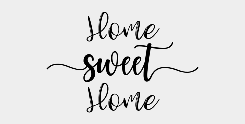 home sweet home clipart, Cartoons - Calligraphy