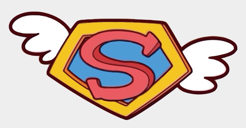 superman logo clipart, Cartoons - Clark Kent Superman Logo - Superman Vector Logo Png