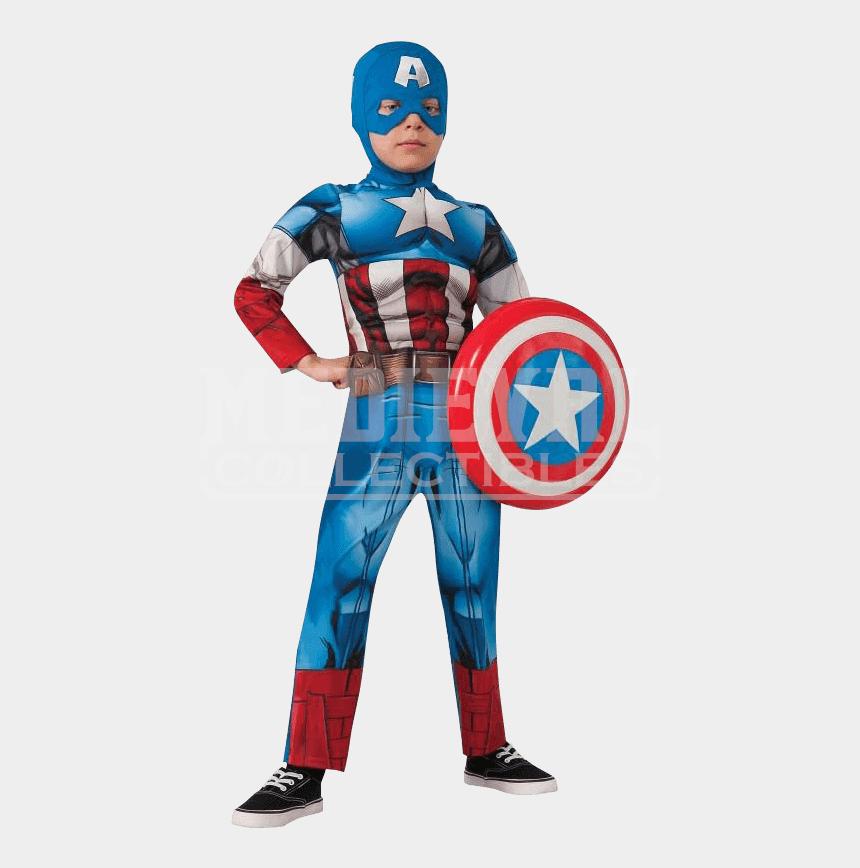 captain america clipart, Cartoons - Captain America Png - Captain America Kostume Børn