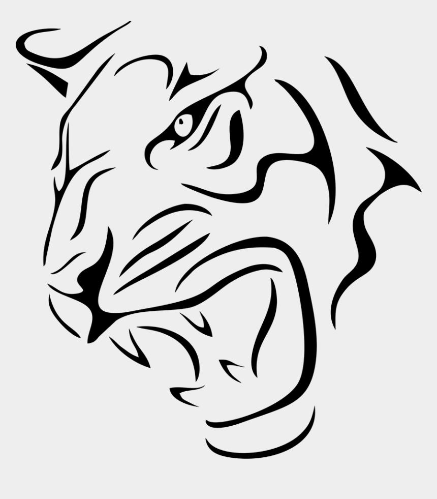 lion head clipart, Cartoons - Tiger Lion Head Scary Auto Car Bumper Window Vinyl - Lion Stickers For Cars