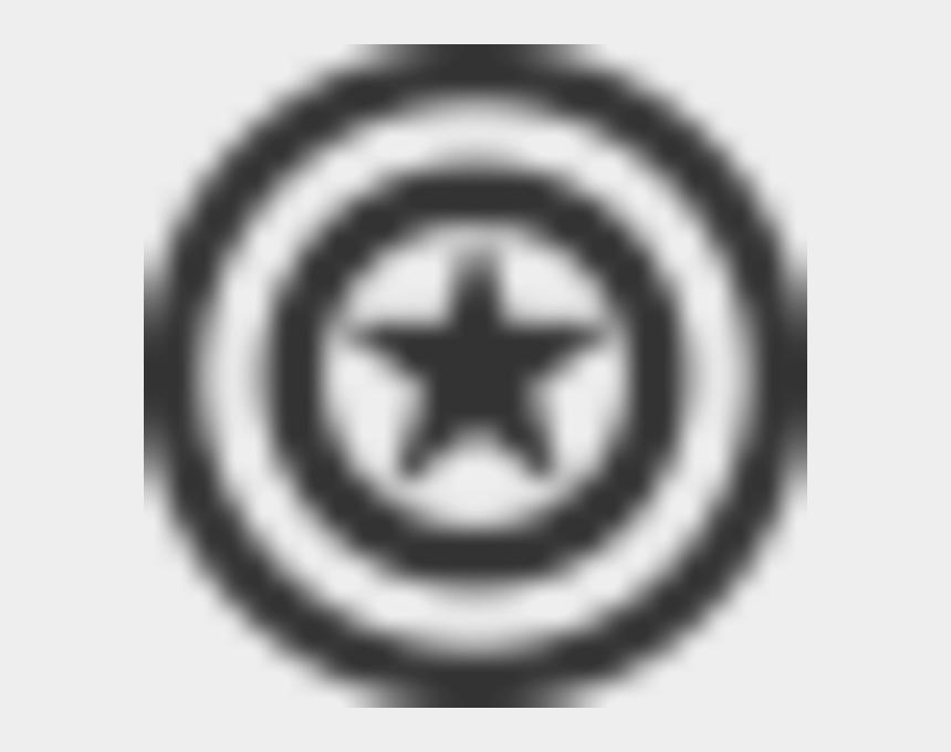 captain america clipart, Cartoons - Captain America Image - Black Captain America Shield