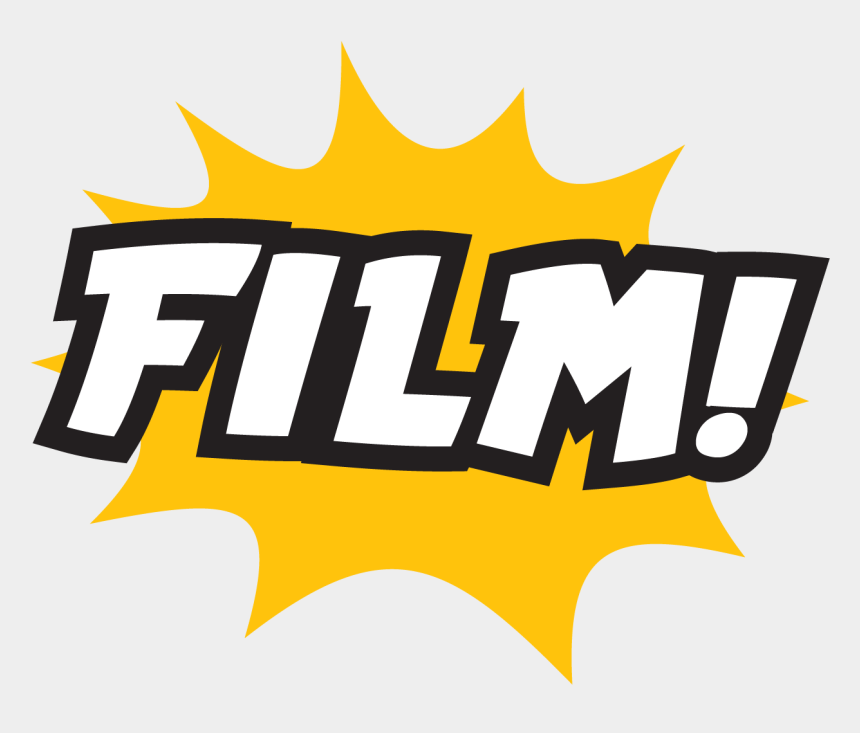 lights camera action clipart, Cartoons - Students Will Learn And Perform Original Scripts On - Emblem