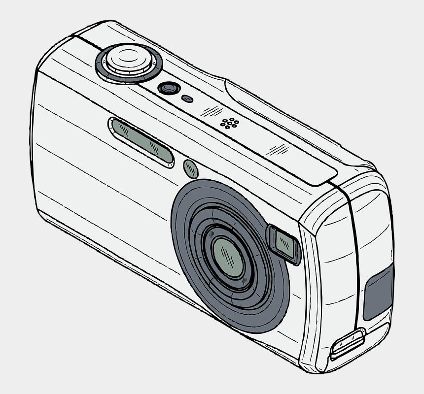 digital camera clipart, Cartoons - Camera Clipart Digital Camera - Digital Camera Clipart Black And White