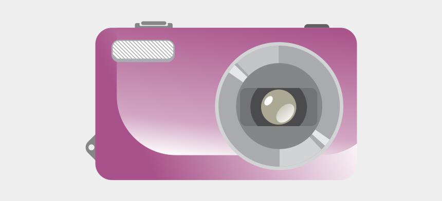 digital camera clipart, Cartoons - Appareil Photo Numérique Dessin