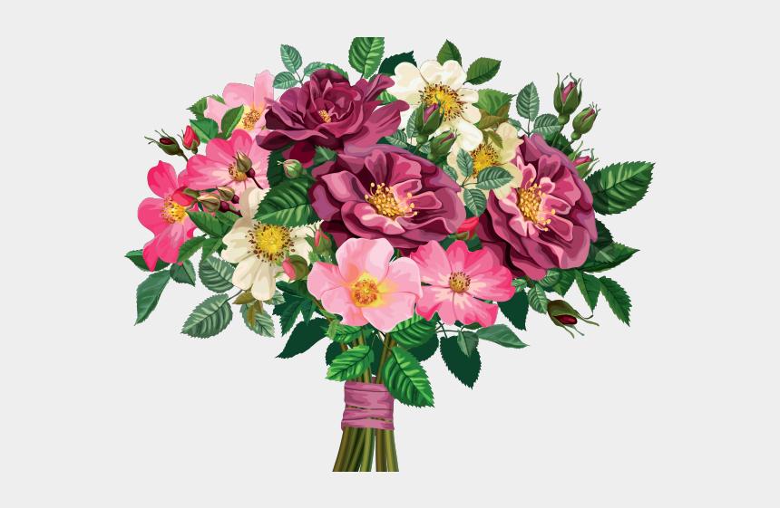 funeral flowers clipart, Cartoons - Floral Bouquet Cliparts - Transparent Background Clip Art Flower Bouquet