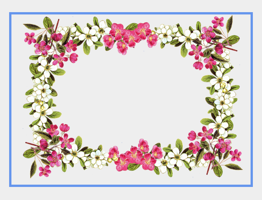 flower frame clipart, Cartoons - Flower Frame Clipart Com Free For Personal Use - Condolences Message In Afrikaans