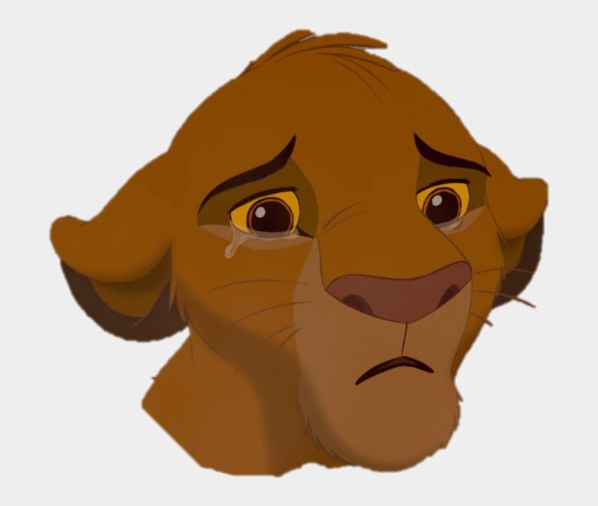simba clipart, Cartoons - Lion King Simba Sad